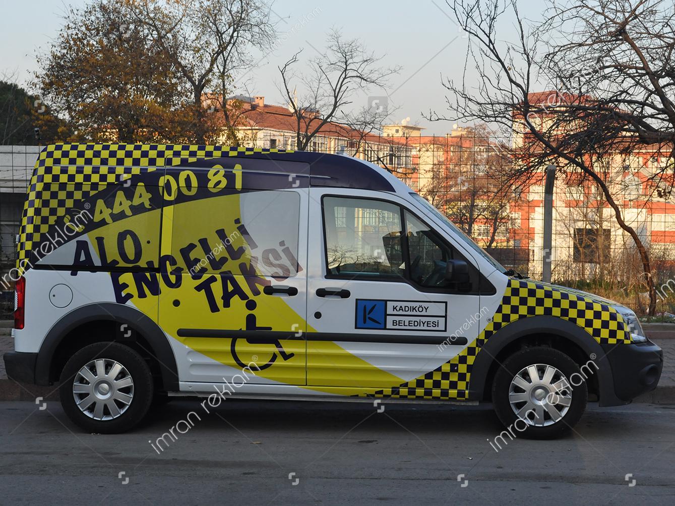 kadikoy-belediyesi-alo-engelli-taksi-arac-giydirme